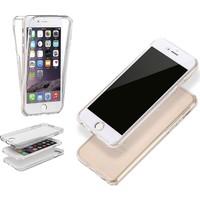 Teleplus İphone 6S Plus 360 Ön & Arka Full Korumalı Silikon Kılıf