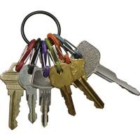 Nite Ize S-Biner KeyRing Anahtarlık-Siyah