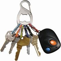 Nite Ize S-Biner KeyRack Şişe Açacağı Anahtarlık-Çelik