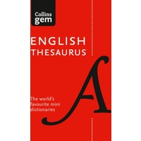 Collins Gem English Thesaurus (8Th Edition)