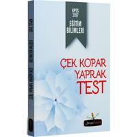 Beyaz Kalem Yayınları Kpss 2017 Eğitim Bilimleri Çek Kopar Yaprak Test