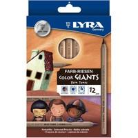 Lyra Color Farb-Rıesen Gıants Skin Tones 12 Li