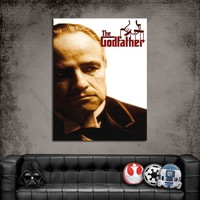 Artredgallery Film Afişleri The Godfather Tablo