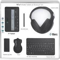 "Ttec Magictab 7Gx 7"" Quad Core 1Gb 8Gb Wi-Fi And. 4.4 + Hediye Paketi Magıctab-7Gx-Syh"