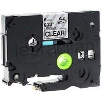 Sarf Muadil Brother P-Touch Tz-Tape 36Mm Beyaz-Siyah Etiket 36Tze261