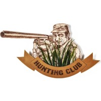 Purupa Hunting Club Dekoratif Obje Hediyelik