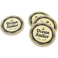 Purupa Ocean Sailor Bardak Altlığı