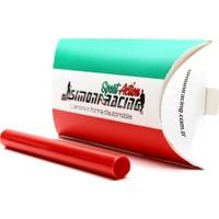 Simoni Racing Nastro Colorato 1 - Kırmızı Far Folyosu SMN102958