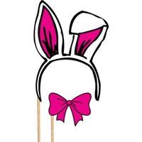 Tavşan Ve Fiyonk Parti Konuşma Balonu Çubukları