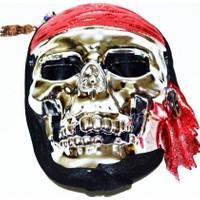 Partişöleni İskelet Maske