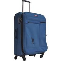U.S. Polo Assn. Orta Boy Valiz Tsa Kilitli Mavi 6050