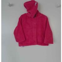 Premom 1034A Kedicik Kapşonlu Kız Bebek Ceket