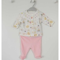 Baby Center 96092 Little Princess Kız Bebek Patikli Takım