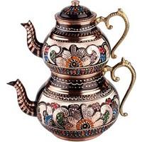 Sonay Bakırcılık Otantik Bakır Çaydanlık Ve Osmanlı Ocağı Küçük Boy
