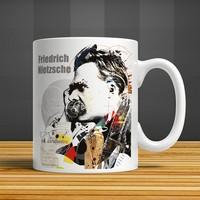 İf Dizayn Friedrich Nietzsche Baskılı Kupa Bardak