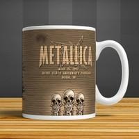 İf Dizayn Metallica Baskılı Kupa Bardak