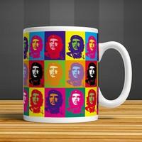İf Dizayn Pop Art Che Guevara Baskılı Kupa Bardak