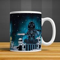 İf Dizayn Star Wars Baskılı Kupa Bardak