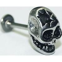 Cadının Dükkanı 316L Cerrahi Çelik Kurukafa Piercing