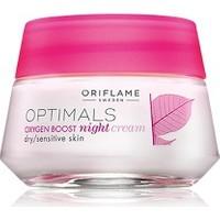 Oriflame Optimals Oxygen Boost Gece Kremi-Kuru Ve Hassas Ciltler 50 Ml