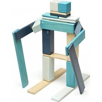 Tegu 24 Parça Klasik Set - Mavi