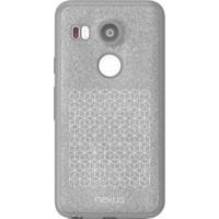 Nexus Google Nexus 5X Orijinal Folio Tpu Kılıf-Gri