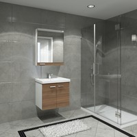 Kare Banyo Terra 60 Cm Banyo Dolabı Mdf