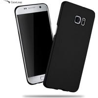 Case Leap Samsung Galaxy S7 Edge Rubber Kılıf Siyah