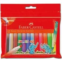 Faber-Castell Jumbi-Neon Floresan Markör,12'li Poşet