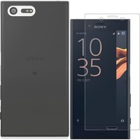 KılıfShop Sony Xperia X Compact Silikon Kılıf + Nano Cam Ekran Koruyucu