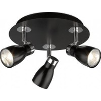Philips Massive Liatris Spot Siyah 3X50W 55733/30/10