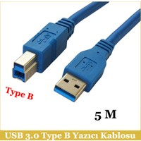 Ti-Mesh Usb 3.0 Type A-B M Printer Kablosu - 5M