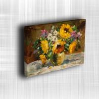 Doku Canvas Baskı Çiçek- CIGE119