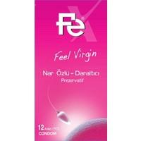 Fe Feel Virgin Nar Özlü Prezervatif 12'Li