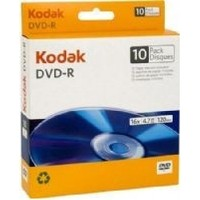 Boş Dvd Kodak Dvd-R 4.7 Gb 10Lu Paket + 10 Adet Zarf