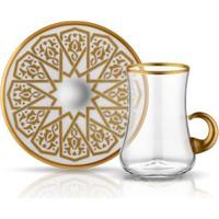 Koleksiyon Dervish Kulplu Çay Seti 6lı Selçuklu