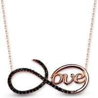 Else Silver Love Kolye
