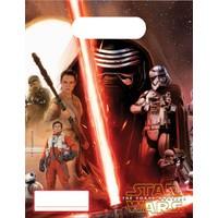 KullanAtMarket Star Wars Güç Uyanıyor Parti Çantası - 6 Adet