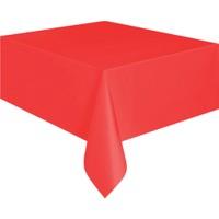 KullanAtMarket Kırmızı Plastik Masa Örtüsü -1 Adet