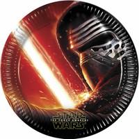 KullanAtMarket Star Wars Güç Uyanıyor Kağıt Tabak 23cm - 8 Adet