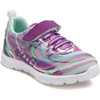 Kinetix A1319305 Mor Neon Pembe Yeşil Kız Çocuk Koşu Ayakkabısı