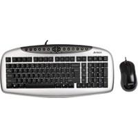 A4 Tech Kb-2150D Klavyeoptık Mouse Set Usb Sıyah