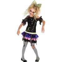 KullanAtMarket Zombi Kız Çocuk Kostümü 12-14 Yaş - 1 Adet