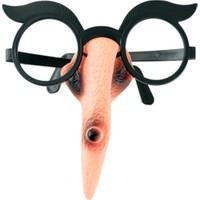 KullanAtMarket Burunlu Halloween Cadı Gözlük - 1 Adet