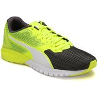 Puma Ignıte Dual Gri Neon Yeşil Erkek Koşu Ayakkabısı