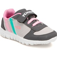 Torex 9315021 Gri Pembe Yeşil Kız Çocuk Sneaker