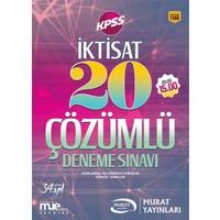 Murat Yayınları 1392 İktisat 20 Çözümlü Deneme Sınavı