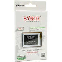 Syrox Samsung E250 Batarya