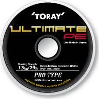 Toray Ultimate Pe Örgü Misina 0,128 Mm 100 M / Yeşil