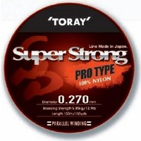 Toray Super Strong Pro Type 0,24 Mm 150 M / Şeffaf